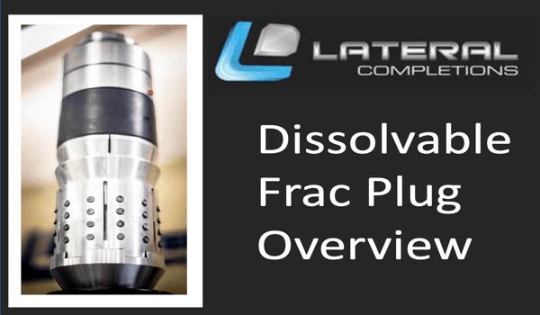 Dissolvable Frac Plug